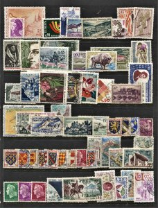 STAMP STATION PERTH France #58 Mint / Used Selection - Unchecked