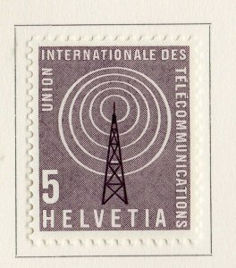 Switzerland Helvetia 1958 Early Issue Fine Mint Hinged 5c. NW-170835