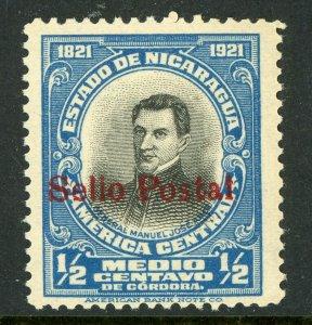 Nicaragua 1923 Independance Issue  ½¢ Overprinted Scott # 420 MNH V332 ⭐⭐⭐⭐⭐⭐