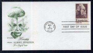 US 1774 Einstein Artmaster U/A FDC