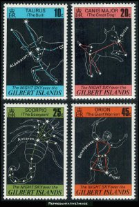 Gilbert Islands Scott 308-311 Mint never hinged.
