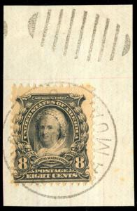 momen: US Stamps #306 Used PAGO PAGO SAMOA Cancel