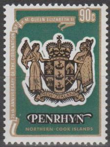 Penrhyn #104c  MNH F-VF (ST2394)