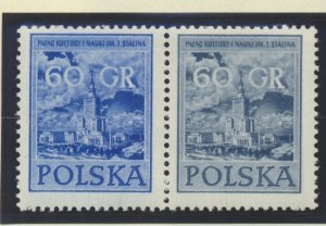 Poland Stamps Scott #695 To 698, Mint Never Hinged, Pairs - Free U.S. Shippin...