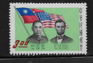 REPUBLIC OF CHINA, 1249, MNH, LEADERS OF DEMOCRACY