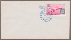 Haiti Air Mail # C176 Boeing 707 Jet , Stamp on Stamp FDC - I Combine S/H