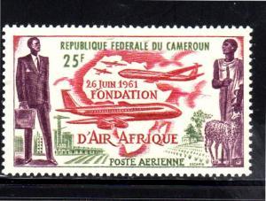 CAMEROUN #C37  1962  AIR AFRIQUE ISSUE  MINT  VF NH  O.G