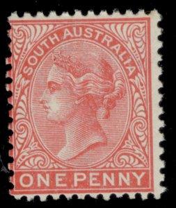 AUSTRALIA - South Australia EDVII SG294, 1d rosine, NH MINT.