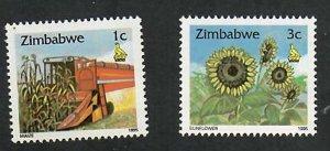 Zimbabwe; Scott720, 722; 1995;  Unused; NH