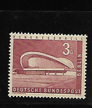 BERLIN 9N136, MNH, CONGRESS HALL
