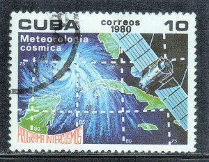 CUBA SC# 2324  **USED** 1980   10c   SEE SCAN