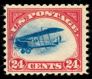 momen: US Stamps #C3 Airmail Mint OG Fast Plane