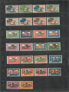 New Caledonia Sc#182-207 M/H/VF, Complete Set, 203+205 Have Tiny Thins