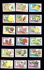 Antigua 708-25 MNH 1983 Nuts and Fruits       (KB)