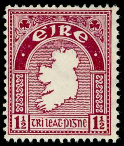 IRELAND SG113, 1½d claret, NH MINT. Cat £19.
