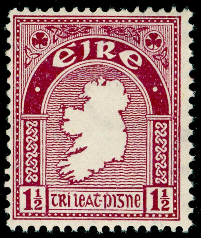 IRELAND SG113, 1½d claret, NH MINT. Cat £19.