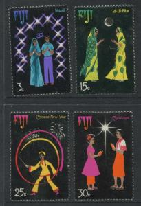 Fiji - Scott 357-360- General Issue 1975 - MNH - Set of 4 Stamps