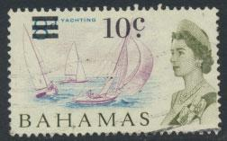 Bahamas  SG 279 SC# 236 Used  OPT Decimal Currency 1966