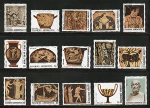 GREECE Scott 1472-86 MNH** 1983 set of (15)