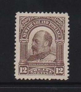 Newfoundland #96 XF Mint