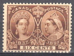 Canada #55 Mint F-VF OG NH C$675.00 -- Jubilee