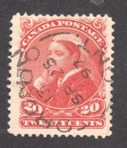 Canada #46  Used  VF  CDS       - Lakeshore P...
