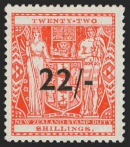 New Zealand Scott AR98 Gibbons F216 Mint Stamp