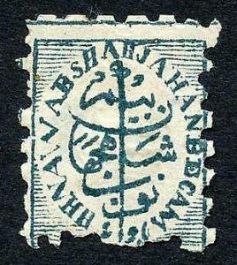 Bhopal SG121/4a blue green