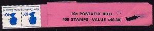 NEW ZEALAND 1977 Postafix 10c coil leader..................................32108