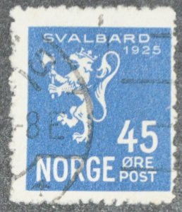 DYNAMITE Stamps: Norway Scott #114 – USED