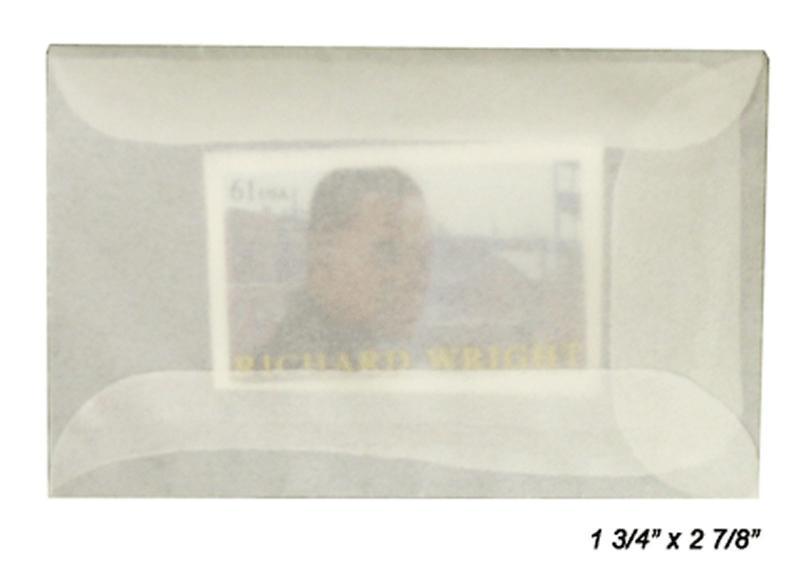 100 count - Glassine Envelopes #1 - ACID FREE - 1 3/4 x 2 7/8
