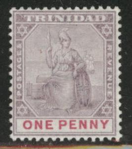 TRINIDAD Scott 76 MH* Britannia perf 14