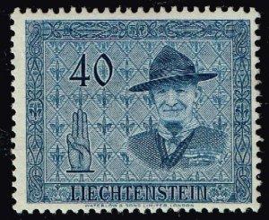 Liechtenstein Stamp 1953 International Scout Conference, Vaduz 40rp  MLH/OGH