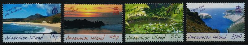 Ascension Island 900-3 MNH Greetings, Christmas, Nature