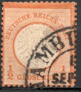 Germany 1872 #16 Mi 18 *USED* - Large Eagle