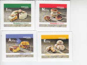 2019 Portugal Traditional Sweets SA (4)  (Scott NA) MNH