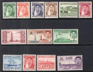 Kuwait 140-152 MNH VF