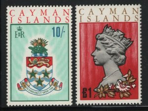 Cayman Islands 1969 Elizabeth Pictorial set Sc# 210-24 NH