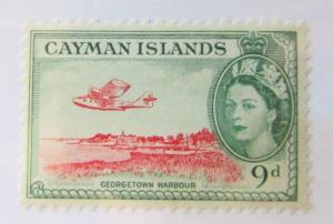 Cayman Islands SC #144 GEORGETOWN HARBOUR MH stamp