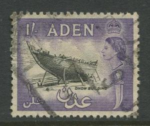 STAMP STATION PERTH Aden #55A - QEII Definitive Issue 1953-59  Used  CV$0.25.