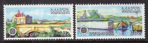 Malta 539-540 Europa MNH VF