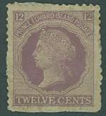 Prince Edward Island SC# 16 Queen Victoria, 12c light cancel