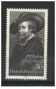 Germany 1977 Sc 1250 Mi 936 MNH**30pf Peter Paul Rubens, ...