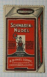 Schwaben Noodles German Brand Poster Stamp Ads