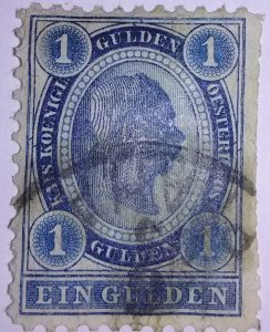 Early Classic Austria issue Scotts cat #90 (1904)