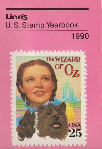 Linn's U.S. Stamp Yearbook for 1990