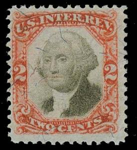 U.S. REV. THIRD ISSUE R135a  Used (ID # 81564)