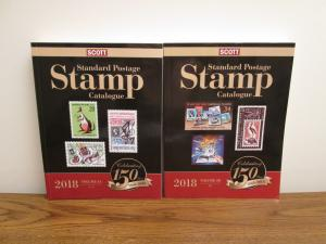Scott 2018 Stamp Catalog Catalogue Volume 4 A and B