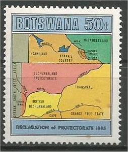BOTSWANA, 1985, MNH 50t, Protectorate, Scott 379