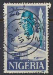 Nigeria  SG 140  Used 1961 Republic Day   please see scan